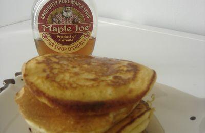 Mes Pancakes au Sirop d'érable