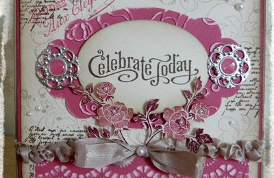 Celebrate today : carte shabby
