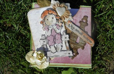 SCRAPBOOKING DAY .....Réalisation forum SCRAPDELICE