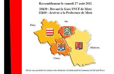 Communauté de Communes du Val Saint-Pierre : Manifestation Réforme Territoriales