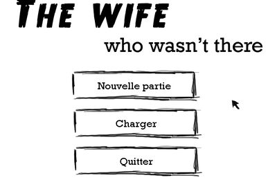 The wife who wasn't there