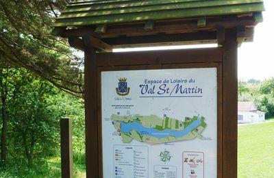 Agréable promenade autour de l'étang du Val Saint Martin à Pornic !