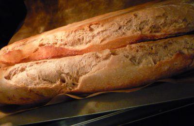 Baguette rustique (levain naturel)