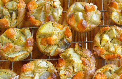 Bouchées apéritives : artichaut - truite fumée