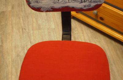 méthode (tuto) pour recouvrir une chaise de bureau