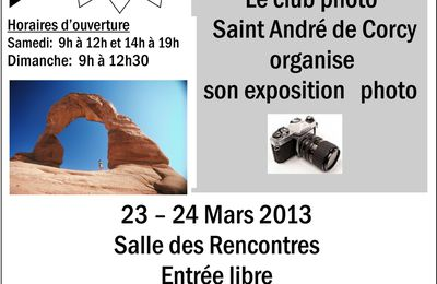 EXPOSITION PHOTO 2013