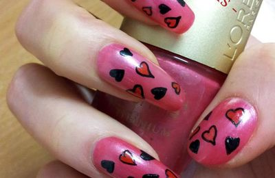 Nail Art Valentine's Day