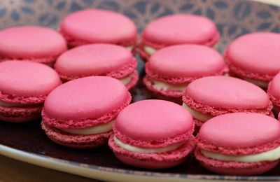 ^^Macarons ganache au chocolat blanc^^
