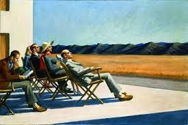 PEOPLE IN THE SUN (Edward Hopper)