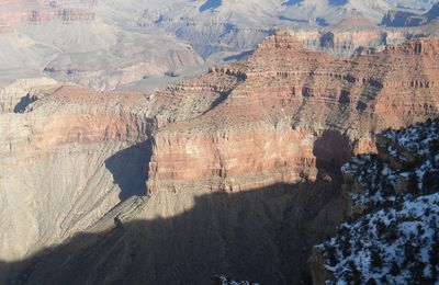 Le Grand Canyon et la ville de Williams