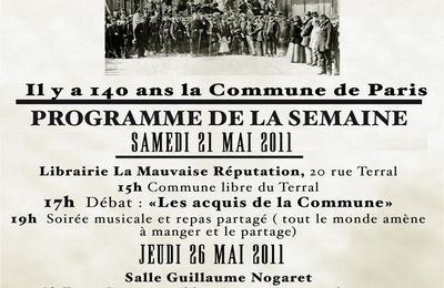 1871-2011 : La Commune de Paris (14)