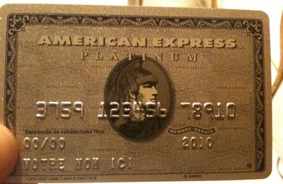 Ils sont forts chez American Express.