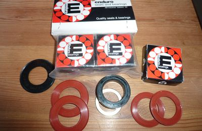 Enduro bearing outboard BB kit ,Shimano press fit,fsa,...