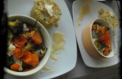 Timbales de poisson light et quinoa gourmand!