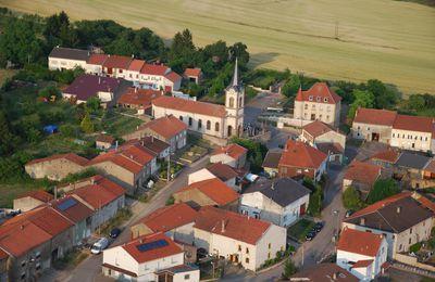 L'église d'Anzeling édifiée sur les fondations d'une ancienne chapelle