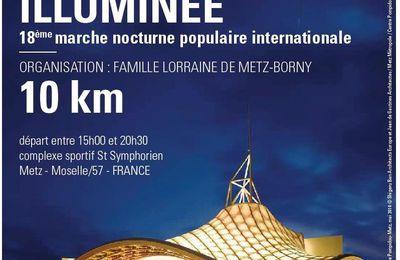 Metz illuminée, marche nocturne le 11 décembre 2010