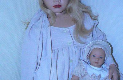 Lauren et son bébé