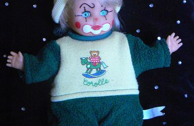 Mini clown Zapf de 1988