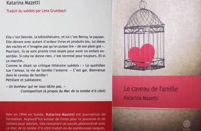 Le Caveau de famille, de Katarina Mazetti