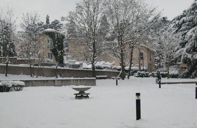 14 Février 2010 : Neige à St Etienne !