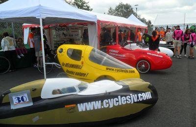 Vélomobiles aux 24h00 du Mans