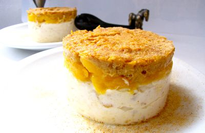 CHEESECAKE MANGUE ET GINGEMBRE (sans cuisson)
