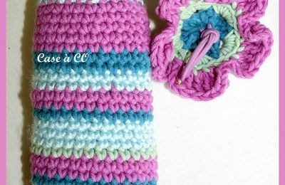 Panier crocheté