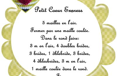 Tuto Petit coeur express
