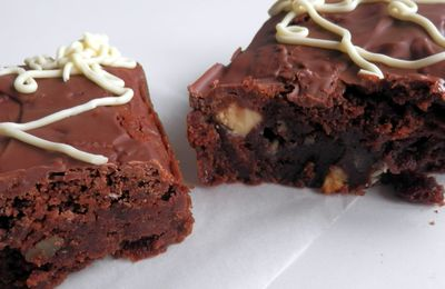 brownies triple chocolat