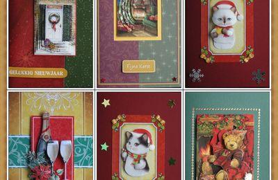 Avec un peu de retard : cartes de Noel 2012