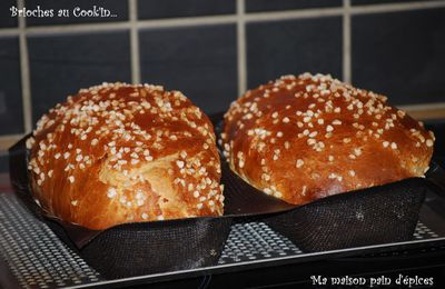 Brioches au Cook'in