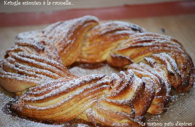 Kringle estonien à la cannelle
