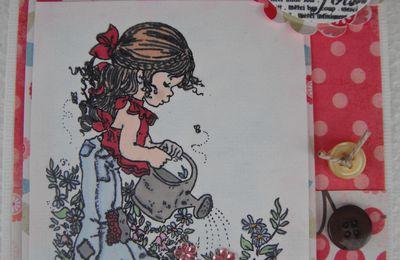 Une carte Sarah Kay ...