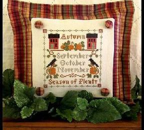 SAL Little House Needleworks - Les saisons - L'automne