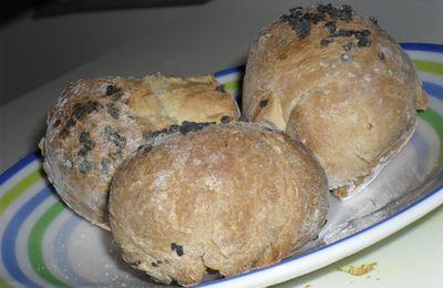 Petits pains levés aux micro onde