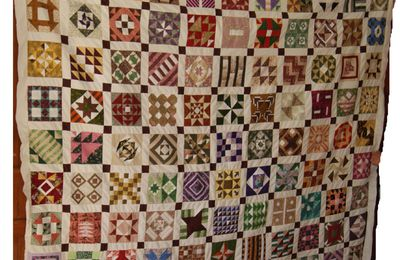 CIVIL WAR DIARY QUILT suite du montage