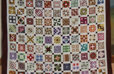 CIVIL WAR DIARY QUILT le sandwich