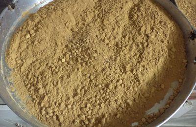 Gâteau marocain aux amandes et sésame