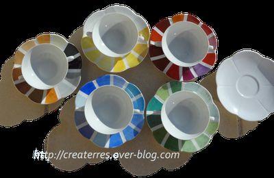 13 - Peinture sur porcelaine: pigments JAUNES