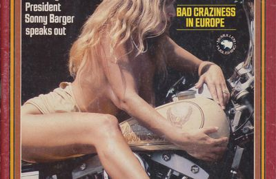 Chopper Magazine - April 1981 - The real biker life style