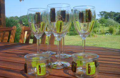 verres choco-anis