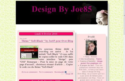 Baby Style OverBlog Template
