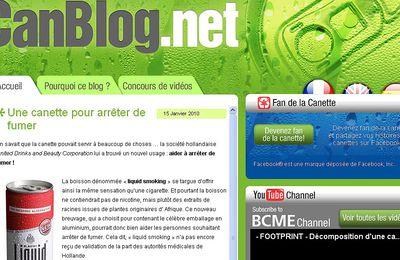 Canblog.net, un site insolite sur les canettes recyclées