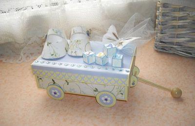 Un chariot naissance et son mini...