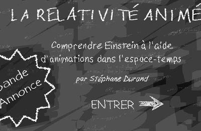 la relativité animée