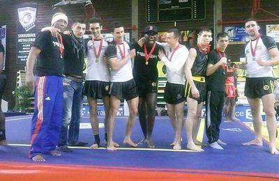 Résultats des championnats de France de Sanda 2013 Classe A