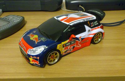 working in progress - citroen DS3 sebastien Loeb