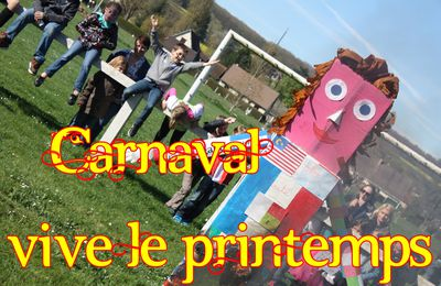Acquigny, 6 avril 2014 : photos du carnaval de l'école