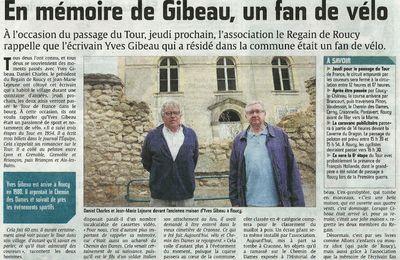 En mémoire de Gibeau, un fan de vélo