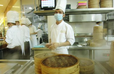 Paradise Dynasty, encore d'excellents xiao long bao (Bangkok, Thaïlande 47)